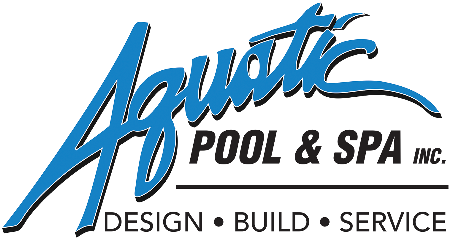 Aquatic Pool Logo