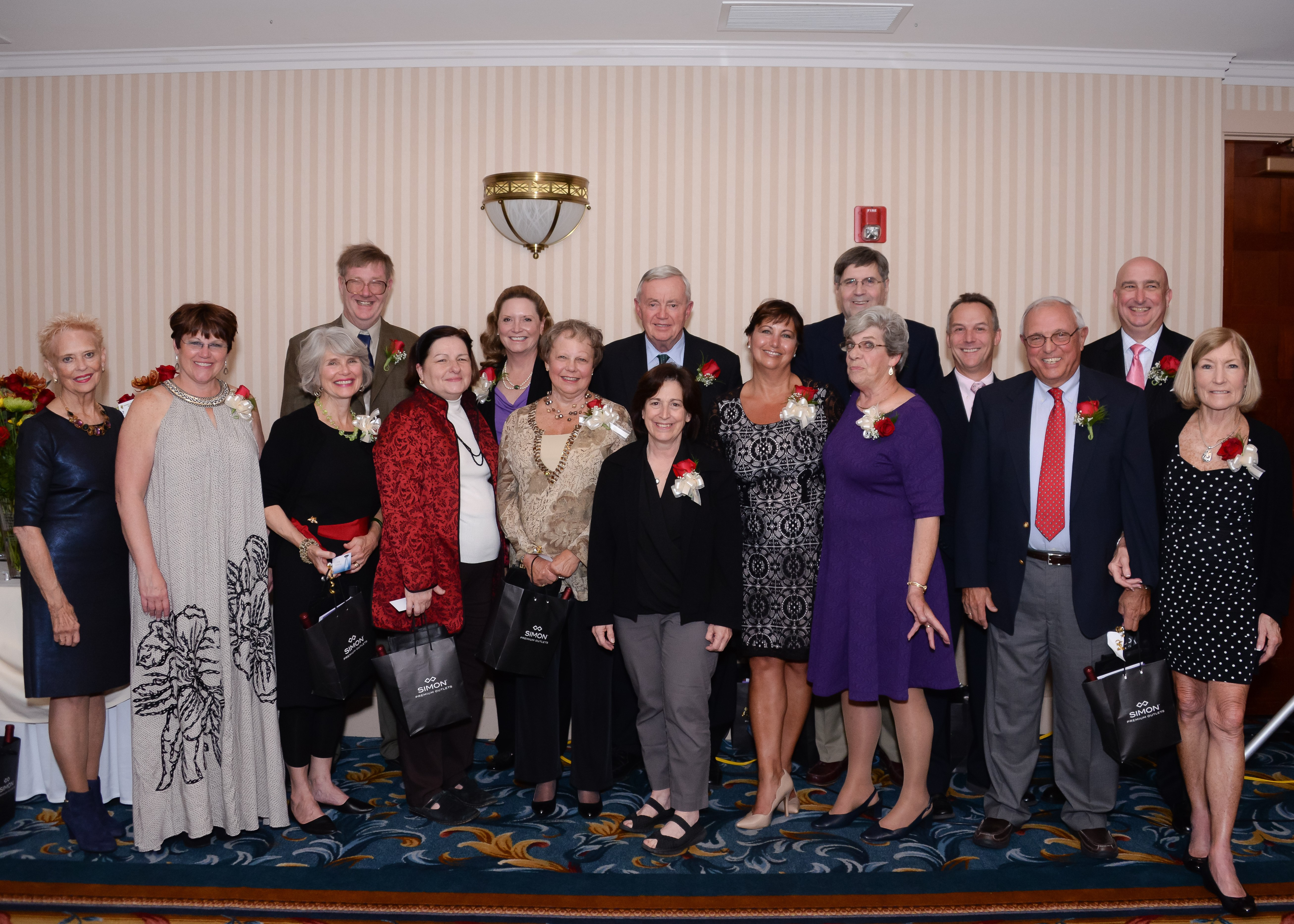 2015 Beacon Award Winners (Joe Goldberg is missing from this photo) Photo by Kelley Fryer/Zip06